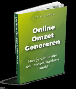 Online omzet generen met dit gratis E-book